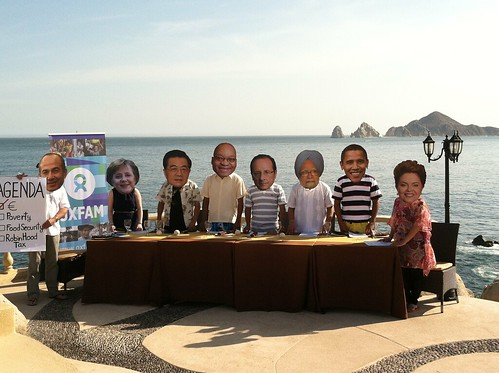 G20 Leaders Gather for a Working Lunch in Los Cabos | by Oxfam International