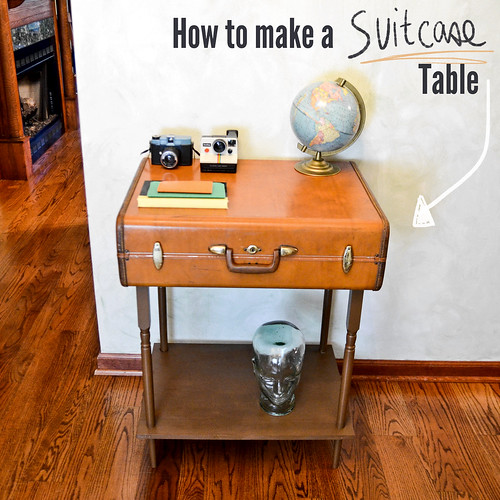 How to make a suitcase table instructions see more on for Instructions on how to build a table