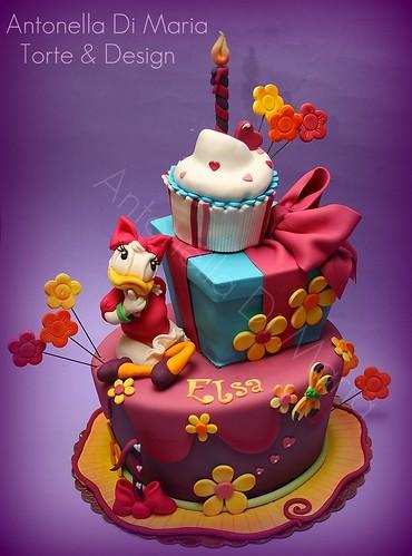 Elsa paperina 1 antonella di maria torte & design Flickr