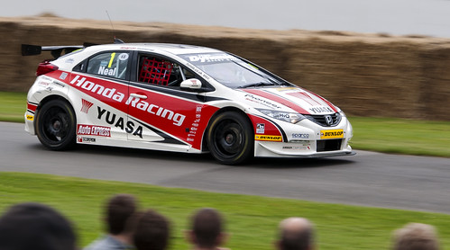 Matt Neal, BTCC Honda Civic | by Mark Haverty