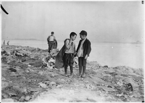 Boys picking over garbage on the dumps. Boston, Mass, October 1909 | by The U.S. National Archives