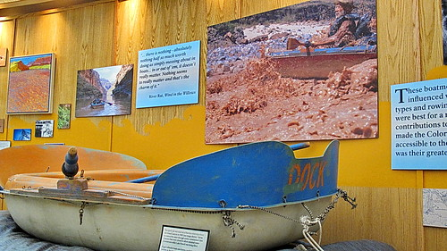 Dock Marston Sport Yak 1963 - Glen Canyon Dam Visitor Center Exhibit | by Al_HikesAZ