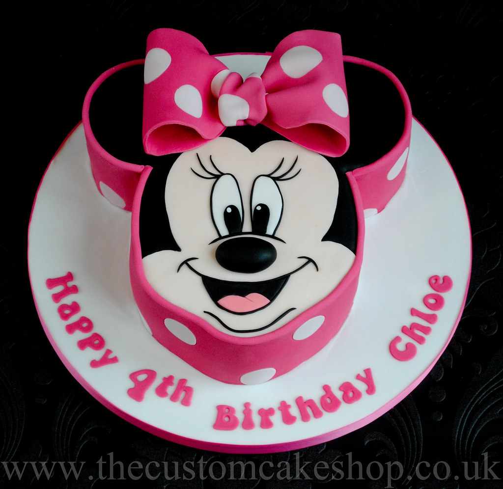 Minnie Mouse Birthday Cake wwwthecustomcakeshopcouk www Flickr