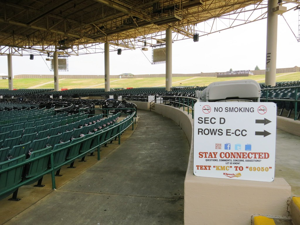Section And Row Directional Signs In The Pavilion At Klips