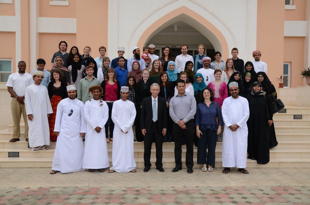 critical language scholarship students at dhofar universit