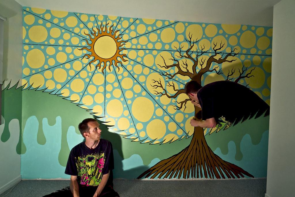 trippy bedroom murals www pixshark com images