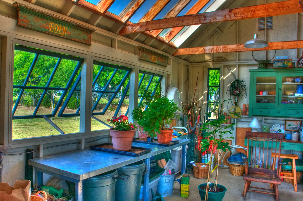 Potting Shed Interior Hdr Here S A More Quot Painterly