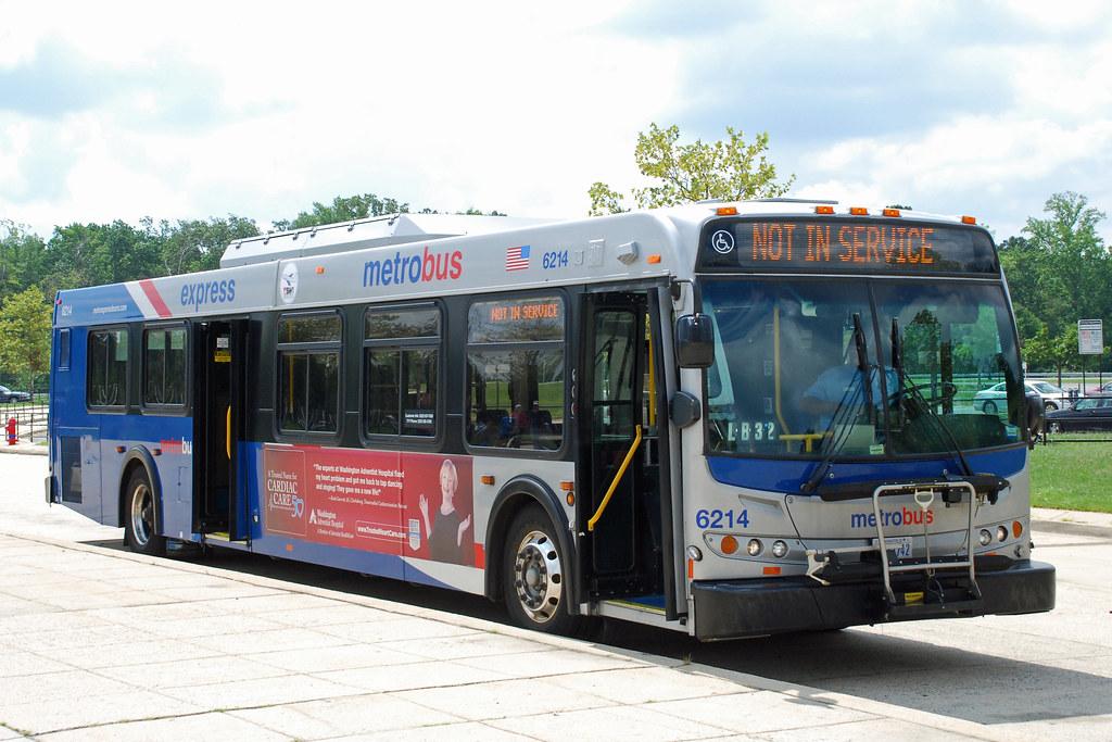 Metro Express Bus Washington Dc Metro Express New Flyer