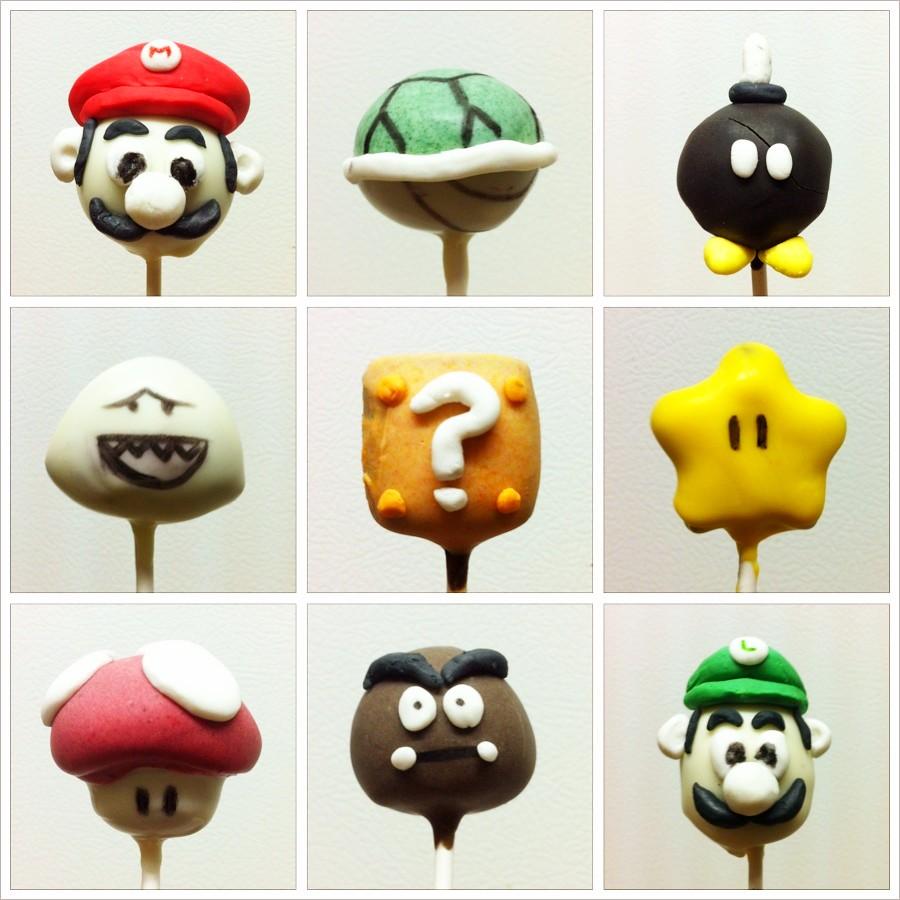 Mario And Luigi Cake Pops