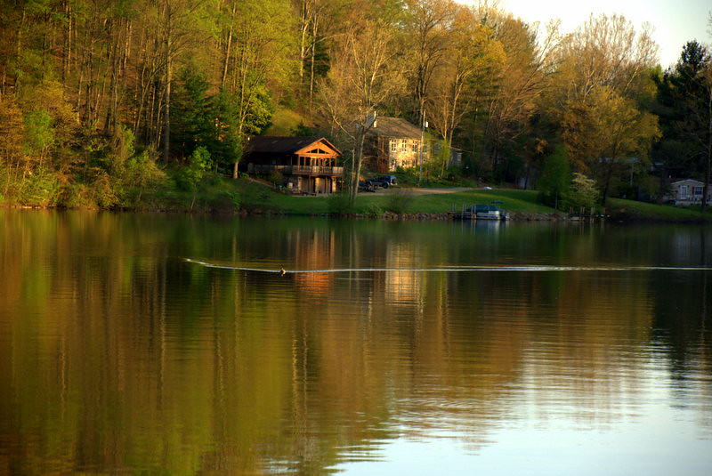 A quiet time one of the best fishing lakes in ohio for Indian lake ohio fishing