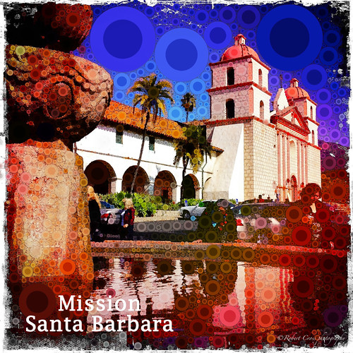 Mission Santa Barbara – Hipstamatic Percolated | by RobertCross1 (off and on)