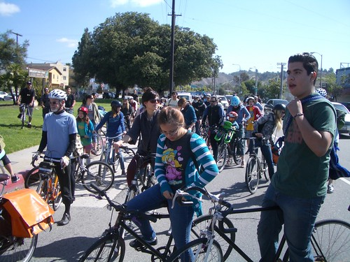 Flying Pigeon LA NELA feeder mob to CicLAvia | by ubrayj02