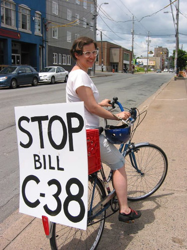 Stop Bill C-38 | by Leadnow