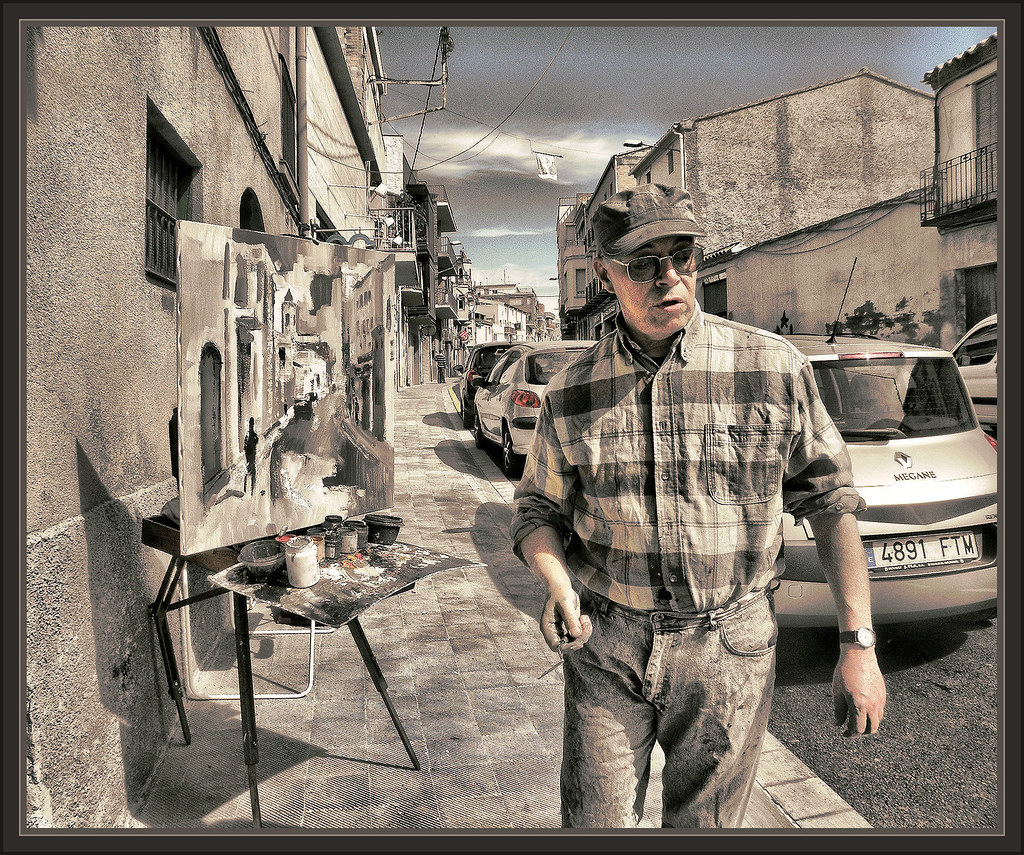 Lleida pintor lerida alpicat pintura catalunya espa a pint flickr - Pintores en lleida ...