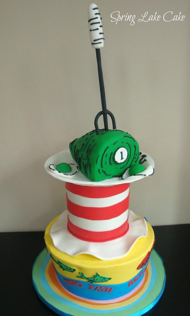 Cat N The Hat Birthday Cake