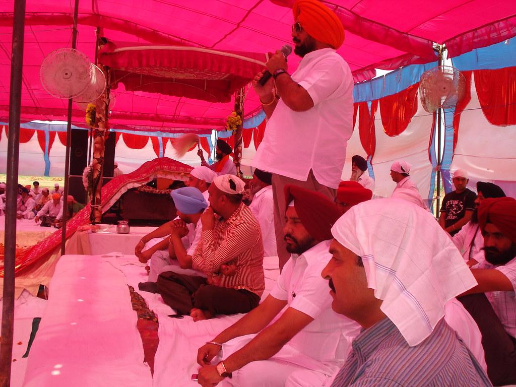 BJP Sikh Leader Sukhminderpal Singh Grewal in the marriage
