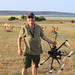 Gonzalo & The Autodesk Octo-Copter with Camels in BG