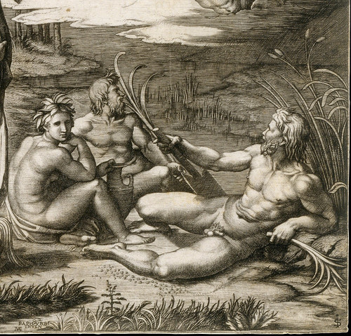 Marcantonio Raimondi - The judgement of Paris, detail [1510-20] | by petrus.agricola