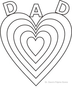 filipino coloring pages - happy fathers day coloring pages for kids 14 dr dave 39 s