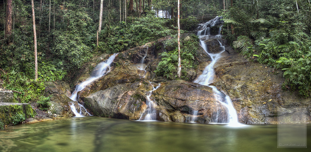 Waterfall Malaysia Selangor Kanching Waterfalls Selangor