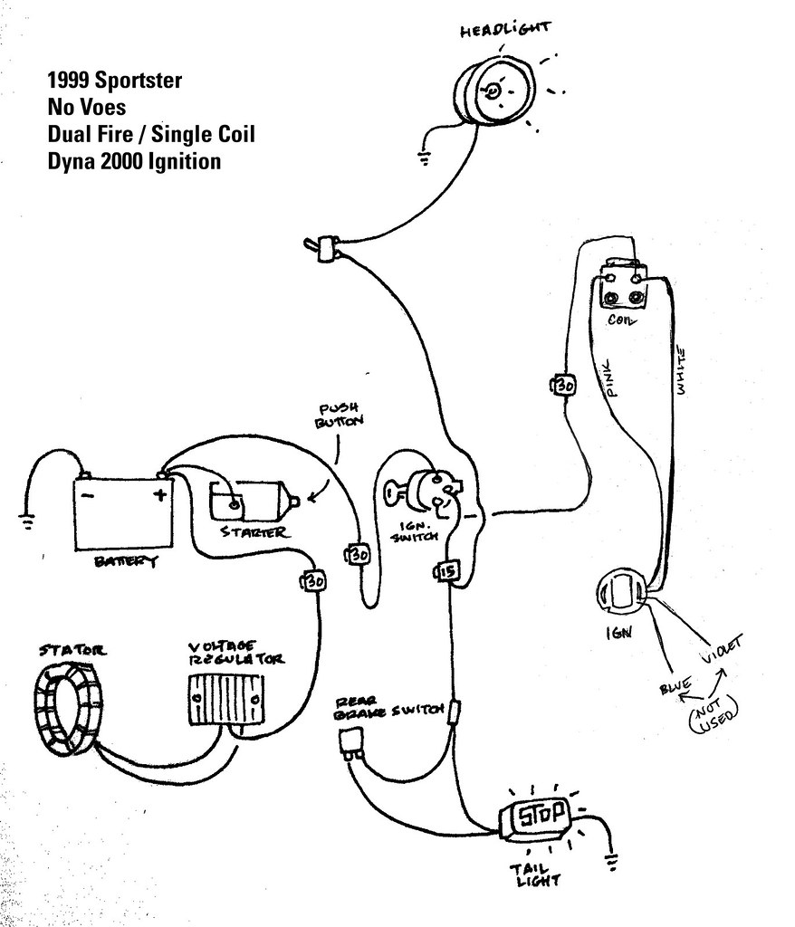 Sportster Oil Pump Diagram 2000 Wiring Schematics 1999 Sporty Biltwell Inc Flickr 1997 Harley