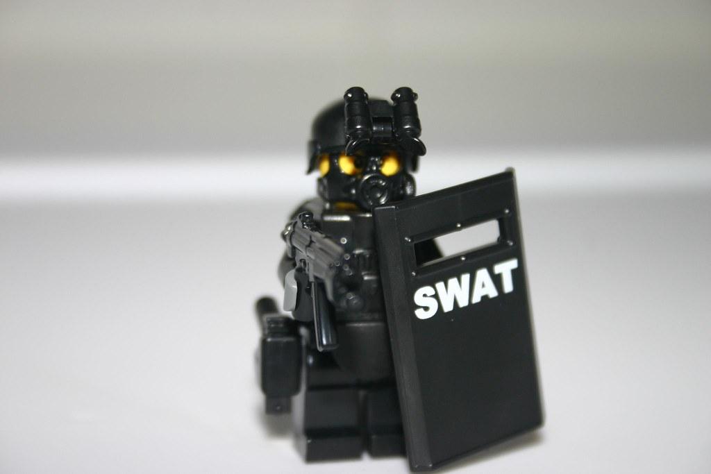 Swat Team Shields Lego Riot Shield Swat Team