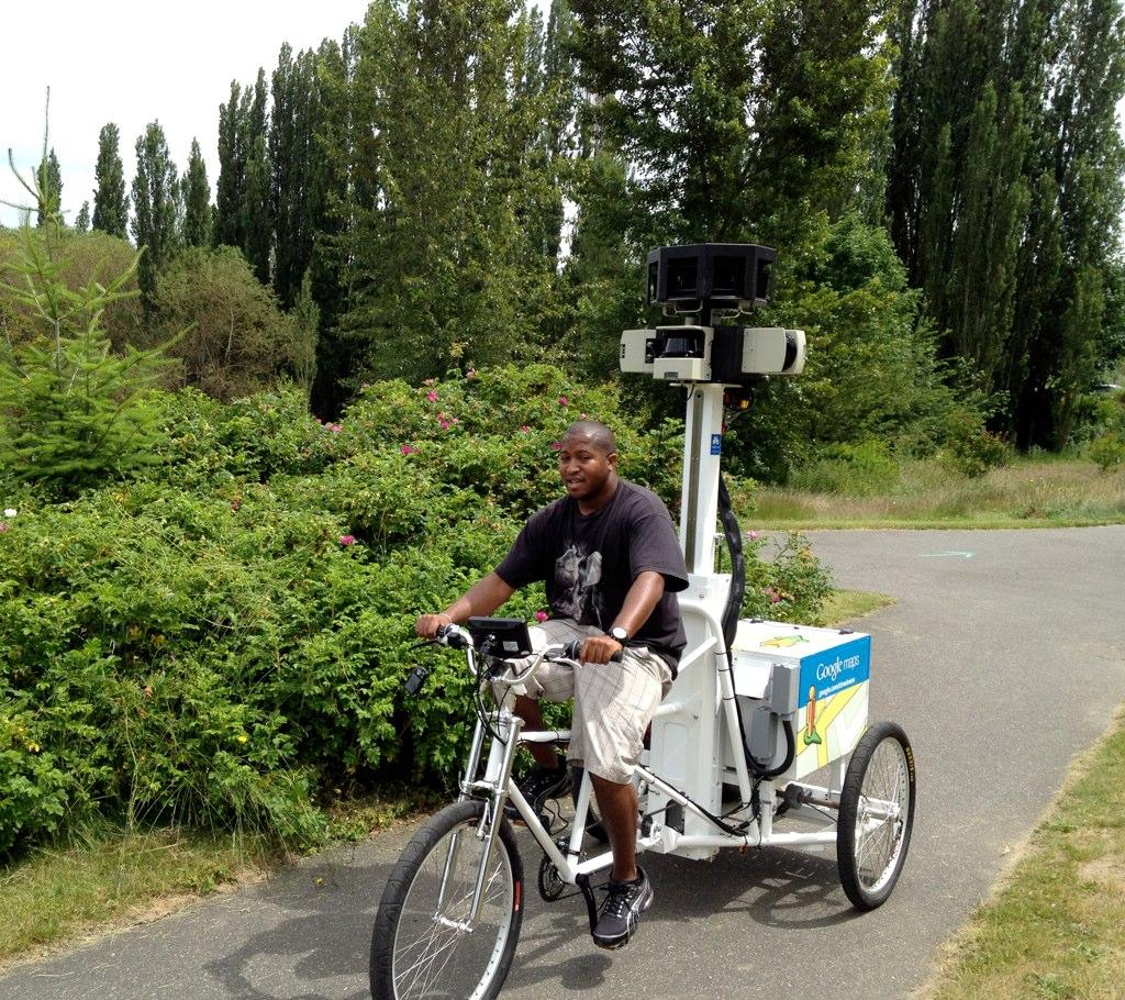 Google Maps Street View Bike