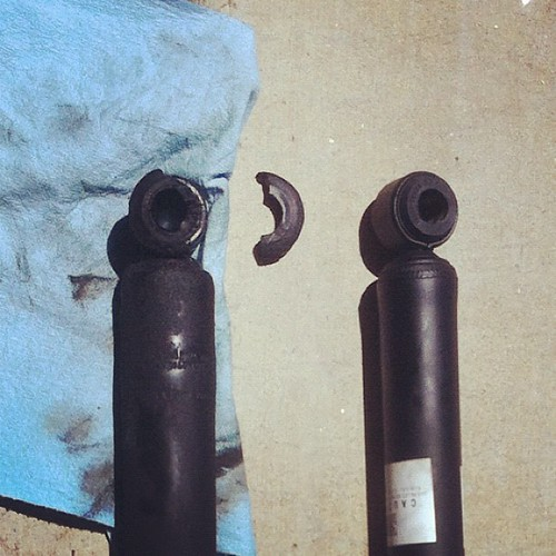 Old shock vs new shock on the Rav4 | by itzjere