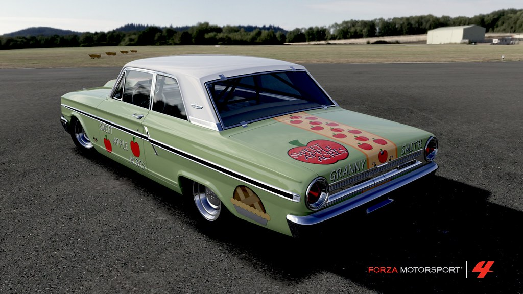 Granny Smith's Ford Fairlane Thunderbolt 4 | This is a 1963