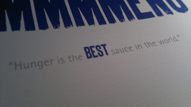 Hunger is the best sauce essay writer