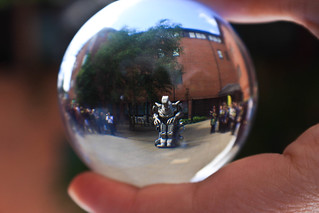 Titan through the ball (tribute to Ginni B) | by sunny_hels