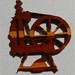 Cedar Spinning Wheel Cutout