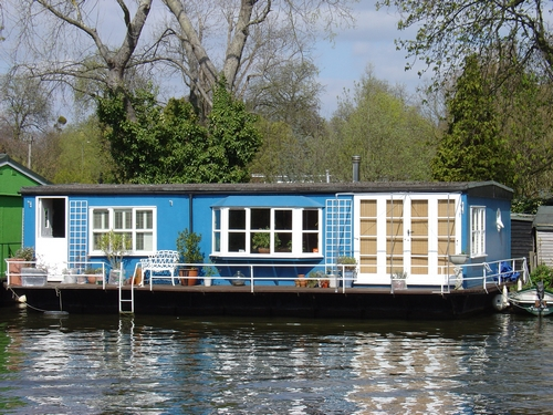 In Pictures: London's Floating Homes