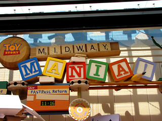 Toy Story Mania Sign | by disneylori