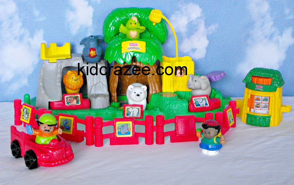 ~SOLD~Fisher-Price-Little-People-Animal-Sounds-Zoo | Flickr
