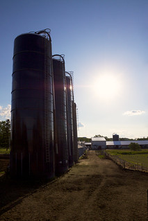 Three and 3/4 Silos | by giantmike