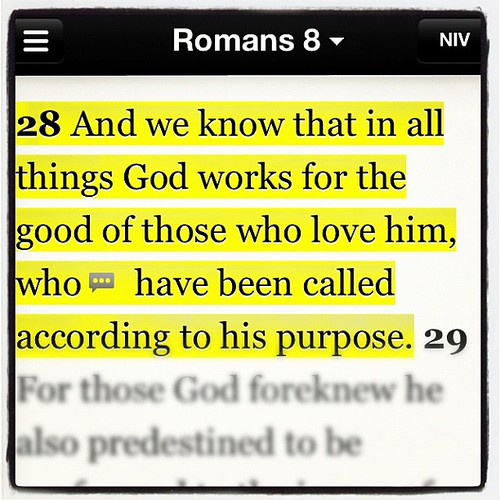 Romans 8:28 | God is so good. | by TheDrewPeterson