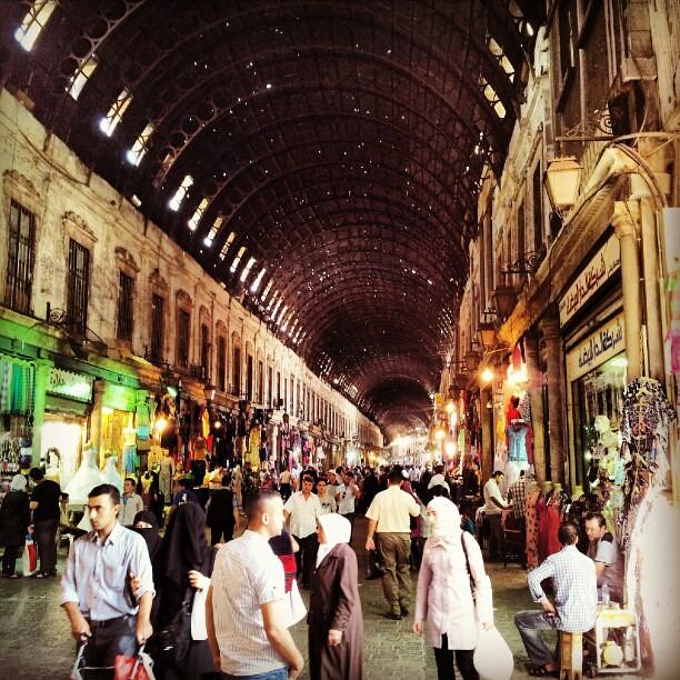 سوق الحميدية من يومين - #دمشق