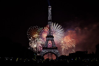 Paris fireworks bastille day  La Fête Nationale | by Photo Quintessence