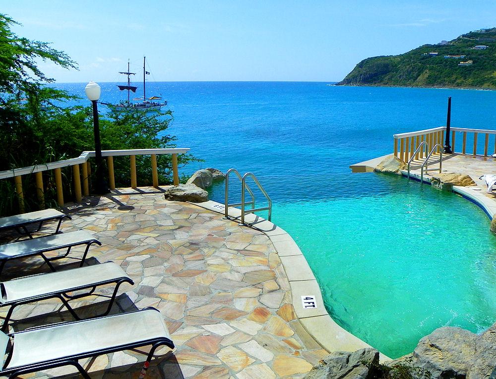 Rooms: Infinity Pool - Little Divi Resort St Maarten