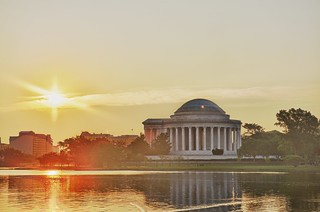 Sunrise over Jefferson | by tychay