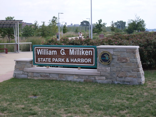 Detroit, Michigan - William G. Milliken State Park and Harbor Sign | by Darrell Harden
