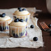 Blueberry Cream Cheese Cupcakes
