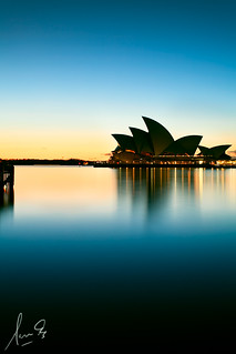 Opera House Silhouette | by sachman75