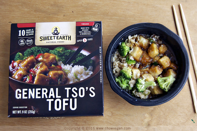 Sweet Earth Natural Foods General Tso's Tofu