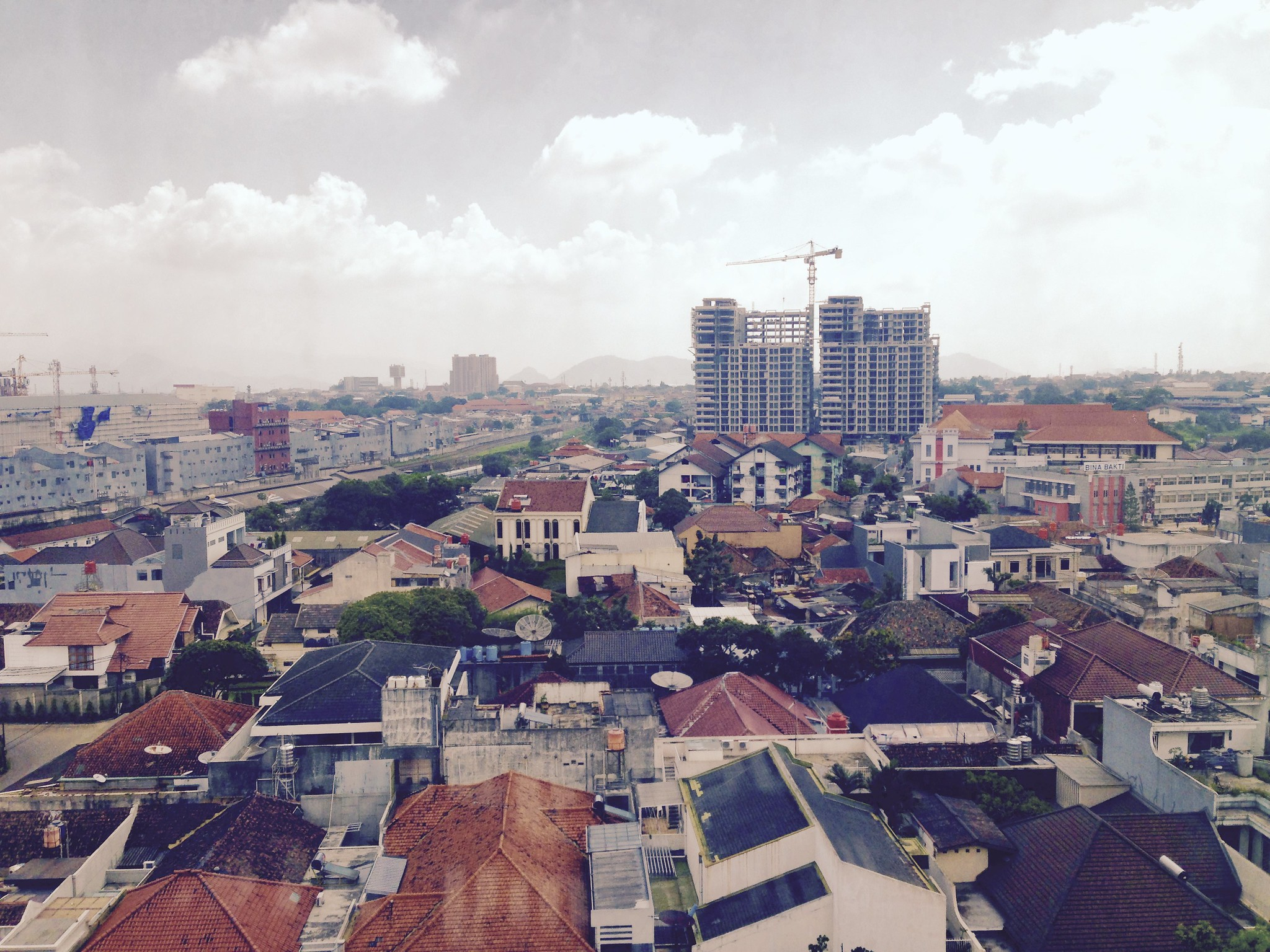 View from my room, Bandung