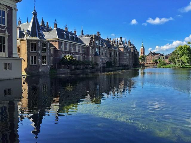El manantial de la Corte (La Haya, Holanda)