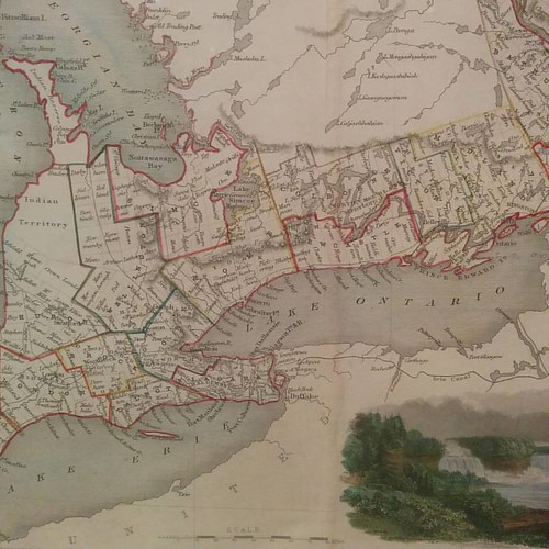 From West Canada, John Rapkin #toronto #torontoreferencelibrary #maps #tdgallery #canadawest #uppercanada #ontario