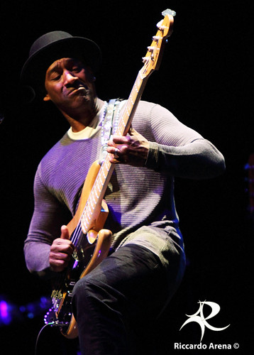 Marcus Miller - Auditorium (Rome) 26/04/2012 | by Riccardo Arena Photographer