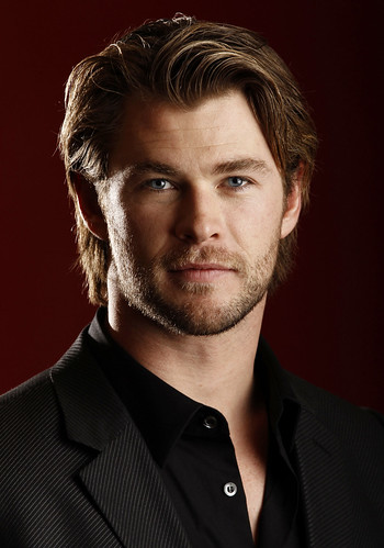 Chris Hemsworth (Yay a brother twosome of happiness and Hotness) (Thor) Take me Thors Hammer, ehmn, oops, just Thor! I didn't steal it! The Hammer I mean!